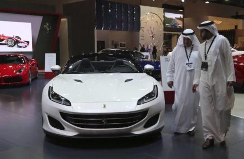 Элитный VIP автомобильный «мусор» в Дубае